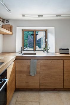 Timber Kitchen.  Found Associates, London