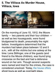 #villisca #axe #murder #house