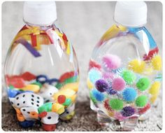 "Fun For Kids: Make Your Own ""peek Through"" Bottles"
