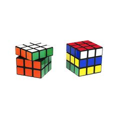 Rubik's Cubes are really a salt grinder and a pepper mill!