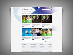 Microsoft Visual Studio 2010 - Elearning website by Rineesh Othayoth, via Behance