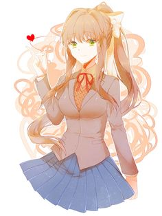 Monika~ ❤️Doki Doki Literature Club!❤️