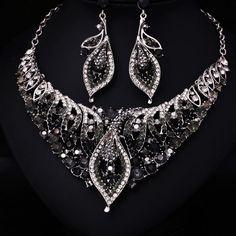Black/Green > Jewelry Set - Shop Cheap Black/Green > Jewelry Set ...
