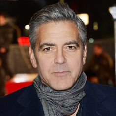 Transformation: George Clooney - 2014 from #InStyle
