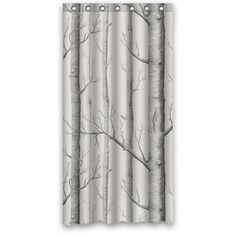 Home Tree Shower Curtain 36 X 72 With 7 Holes