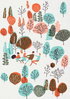 me encanta la composición, los colores y el estudio de las plantas  Hannah…