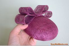 how to make a pillbox hat