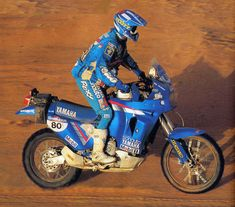 1991 Stephane Peterhansel auf der SONAUTO YAMAHA