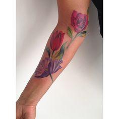 Tattoo Artist: Amanda Wachob - New York, USA www.tatteo.com