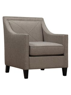 Shop Joss & Main for your Asher Arm Chair. Add a dash of panache to the living room or master suite with this chic arm chair, showcasing nailhead trim and neutral upholstery. Furniture Update, How To Clean Furniture, Accent Furniture, Traditional Dining Room Sets, White Sofas, Small Space Living, Dining Chair Set, Club Chairs, Accent Chairs
