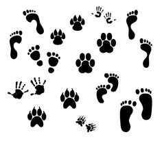 KLDezign SVG: Fingerprints-the tiger paws could be useful around here.