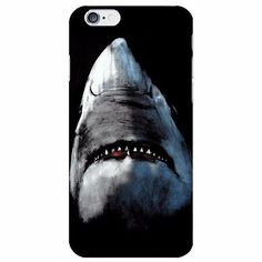 Ocean's wild boy Jaws shark iPhone case made from soft-silicone. Compatible iPhone models: 5 / 5s / SE, 6 / 6s, 6 / 6s Plus, 7, 7 Plus Case protects your iPhone while the silky, soft-touch silicone fe