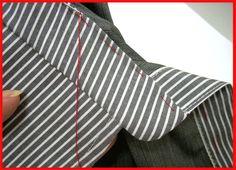 Shirt collar on the counter - sweep