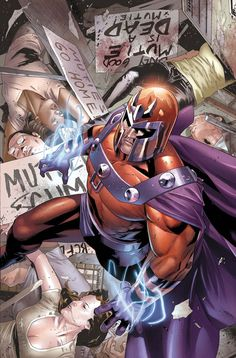 Magneto by Clay Mann