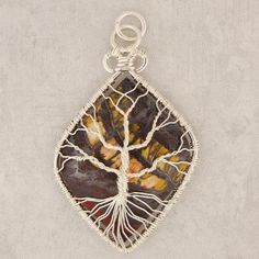 Free Wire Wrapping Patterns | Tigeriron Tree Pendant