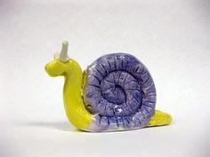 Ceramic Snails