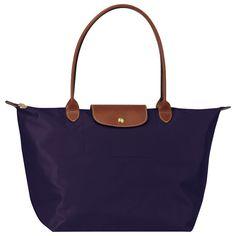 LONGCHAMP | Le Pliage tote bag in purple | $145.00
