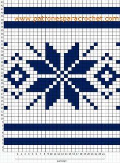 Crochet Patterns Diagram Potholders Crochet - PONCHO Cozy Caramel Macchiato Hooded Ladies Boho c. Tapestry Crochet Patterns, Fair Isle Knitting Patterns, Crochet Stitches Patterns, Knitting Charts, Crochet Chart, Loom Patterns, Knitting Socks, Knitting Stitches, Cross Stitch Patterns