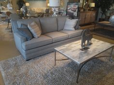 Braxton Culler- Ziggy with performance fabric Ormond Beach, Living Room Seating, Furniture Showroom, Sofa, Couch, Home Furnishings, Fabric, Design, Home Decor