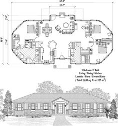 Patio Collection PTE-0225 (1630 sq. ft.) 3 Bedrooms, 2 Baths