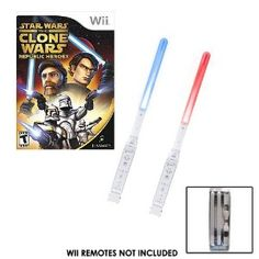 Wii lightsabers