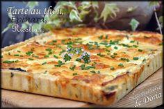 Une autre version de tarte salée... Ingrédients pour une tarte de 22 cm x 29 cm La pâte 200gr de farine 1 oeuf 100 gr de beurre Une pincée de sel Dans un bol, battre l'oeuf. Dans un saladier, mettre la farine, le sel et le beurre coupé en lamelles. Faire...