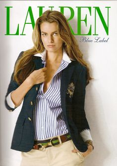 Only for a magazine cover shot would anyone who is not third class Ever, ever, wear their shirt un-buttoned so far down; just what all is she selling, any way?