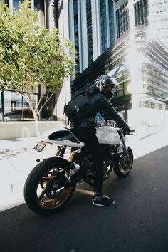 Ducati Sport classic custom bike. Owner - IG:@be_superyouman