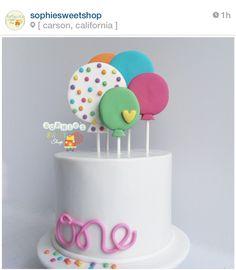 balloon 1st birthday
