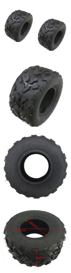 Training Wheels 177839: 2X 16X8-7 7 Inch Atv Go Kart Quad Knobby Tubeless Tires 70Cc 90Cc 110Cc 125Cc -> BUY IT NOW ONLY: $79.99 on eBay!