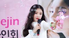 LOONA's Heejin and a bubble gun