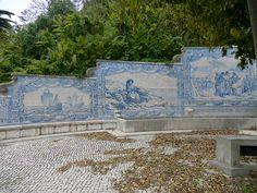 Tile Panels at a XVIII Century Public Fountain, Paço de Arcos