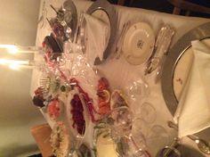 Illallinen on katettu!