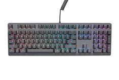 """""""Features & Benefits"""" Mionix Wei PC and Mac RGB Mechanical Keyboard Silent - Great For eSports Made For Gamers And Artists - Quite Cherry MX Red Switches - Durable USB Metal Keyboard Black / Grey Rgb Red, Esports, Pet Store, Computer Keyboard, Black And Grey, Gray, Usb, Layout, Cherry"""