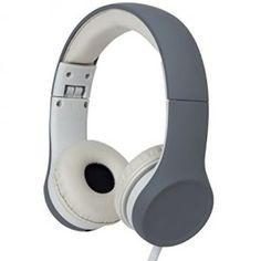 Snug Play+ Kids Headphones Volume Limiting and Music Share Port (Grey)