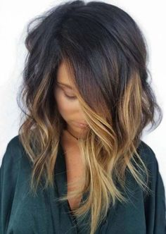 87 unique ombre hair color ideas to rock in 2018 - Hairstyles Trends Love Hair, Great Hair, Gorgeous Hair, Truss Hair, Hair Color And Cut, Hair Color Black, Faded Hair Color, Hair Color Ideas For Brunettes Balayage, Summer Hair Color For Brunettes