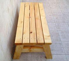 DIY - Super Simple Bench for the patio or garden #diy #bench #dan330 http://livedan330.com/2015/03/01/diy-super-simple-sitting-bench/