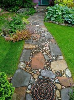 Love this walkway!