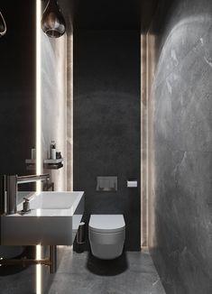 Western Home Decor Toilet And Bathroom Design, Small Toilet Design, Small Toilet Room, Bathroom Design Luxury, Home Interior Design, Small Bathroom, Luxury Toilet, Wc Design, Home Decor Paintings