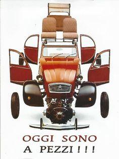 2 CV........PARTAGE DE 2 CV TÉLÉVISION.........SUR FACEBOOK........ Citroen Ds, Psa Peugeot Citroen, Volkswagen, Retro Cars, Vintage Cars, Automobile, 2cv6, Ad Car, Car Posters