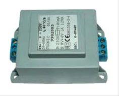 2N BEFO, transformátor 230V ~ / 8 + 4V ~ ( napájač )