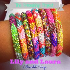 The Friendship Project - Lily and Laura Bracelets