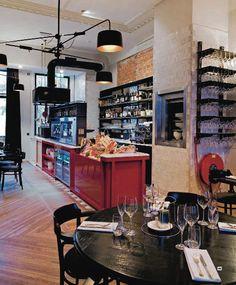 Enoteca Wine Bar/Restaurant Rotterdam by Jan-Willem van der Klooster, via Behance