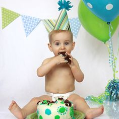 Capture the excitement of your child's first birthday with a DIY cake smash photo shoot. Tips on set-up, lighting, and props.