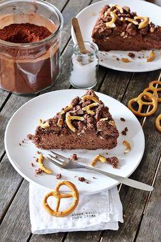 Schoko Cheesecake mit Brezel Crunch by Fashion Kitchen