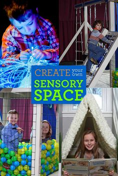 create your own sensory space