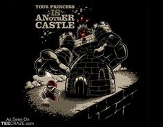 Is Another Castle T-Shirt Designed by Obvian