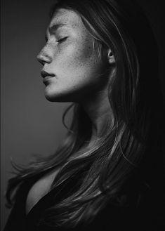 Freckles. Zanna van Vorstenbosch @SPS.  BW photography
