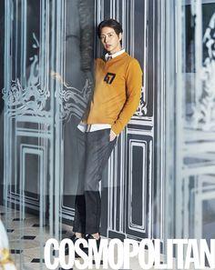 Park Hae Jin - Cosmopolitan Magazine August Issue '15