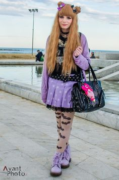 Yesterday's outfit for the fashion walk (≧∇≦)
